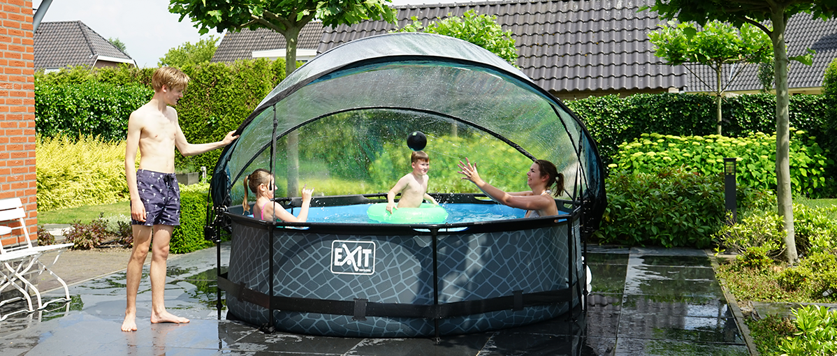Does an EXIT swimming pool cover fit on my pool?