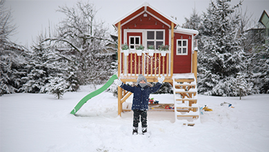 Why play outside in the Winter?