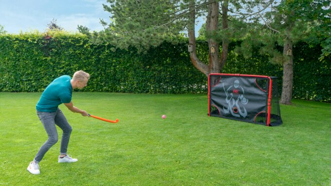 Practice your hockey skills with EXIT Toys!
