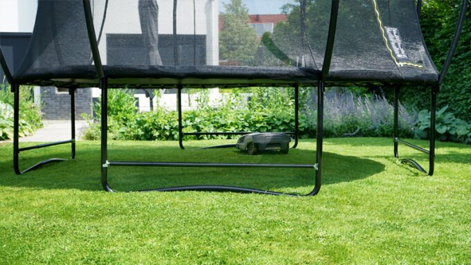 EXIT Robot mower stop: The solution for trampolines on grass