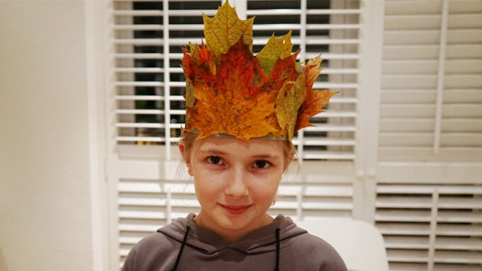 Autumn arts and crafts ideas