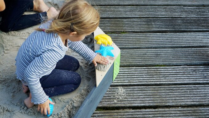 Six tips for placing, filling and maintaining the sandpit