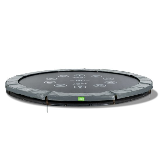 12.61.10.01-exit-twist-ground-trampoline-o305cm-green-grey-3