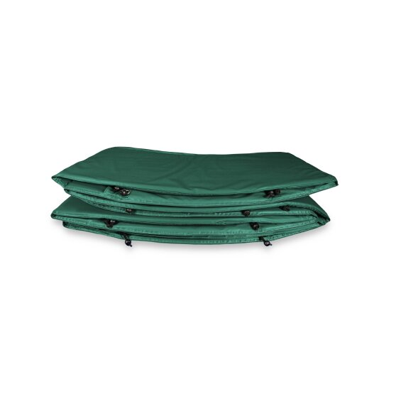 EXIT padding InTerra ground level trampoline ø427cm - green