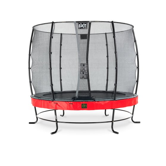 08.10.08.80-exit-elegant-premium-trampoline-o253cm-with-economy-safetynet-red