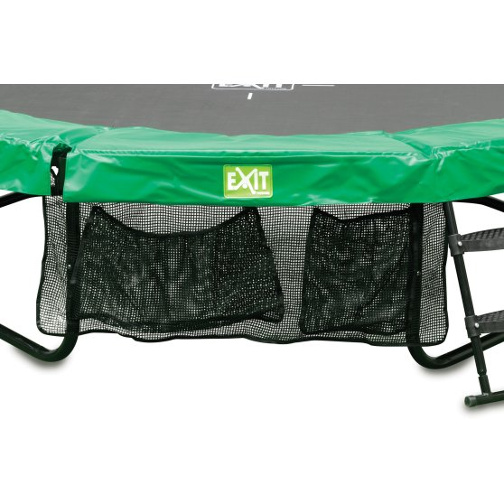 10.91.08.02-exit-jumparena-trampoline-o244cm-with-ladder-and-shoe-bag-green-grey-4