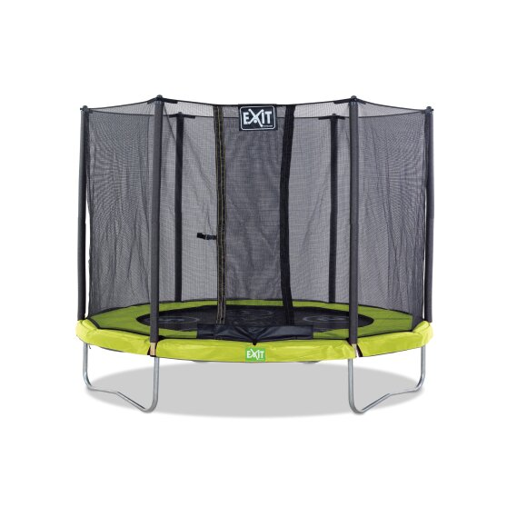 EXIT Twist trampoline ø244cm - green/grey