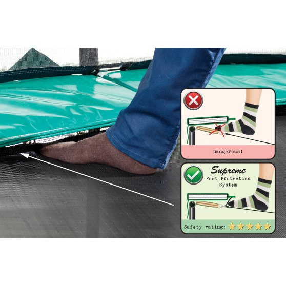 10.71.10.00-exit-supreme-trampoline-o305cm-with-ladder-and-shoe-bag-green-2