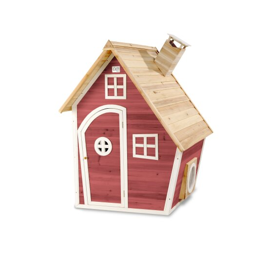 EXIT Fantasia 100 wooden playhouse - red