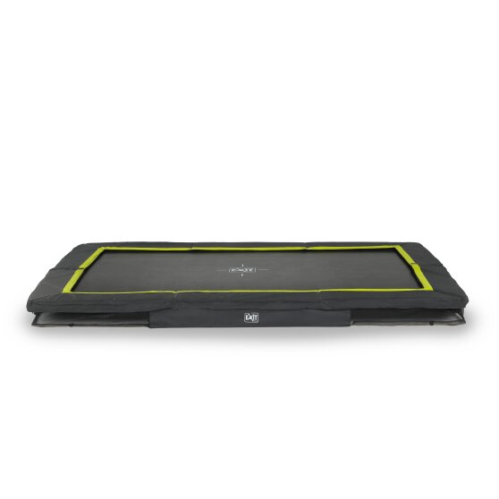 EXIT Silhouette ground trampoline 244x366cm - black