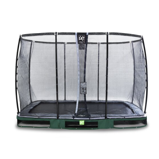 09.40.72.20-exit-elegant-ground-trampoline-214x366cm-with-deluxe-safety-net-green