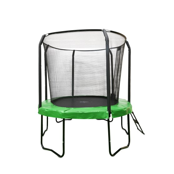 10.95.12.02-exit-jumparena-trampoline-oval-244x380cm-with-ladder-and-shoe-bag-green-2