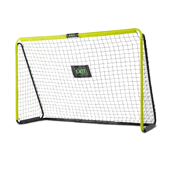 EXIT Tempo steel football goal 240x160cm - green/black
