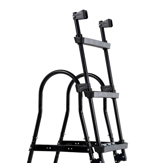 EXIT pool ladders for frame height of 91-107cm - black