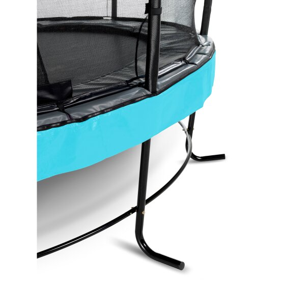 EXIT Elegant Premium trampoline ø253cm with Deluxe safetynet - blue