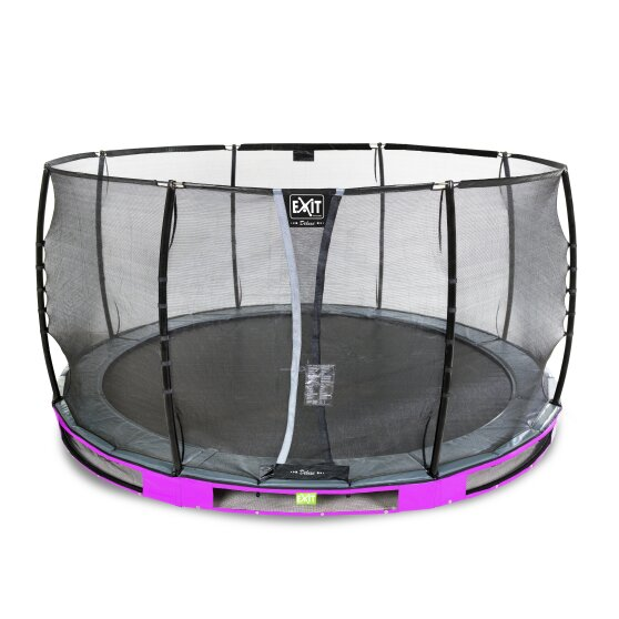 09.40.14.90-exit-elegant-ground-trampoline-o427cm-with-deluxe-safety-net-purple