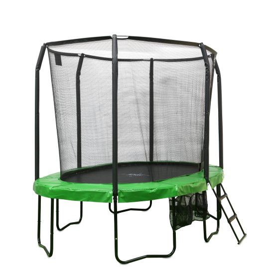 10.95.12.02-exit-jumparena-trampoline-oval-244x380cm-with-ladder-and-shoe-bag-green-1