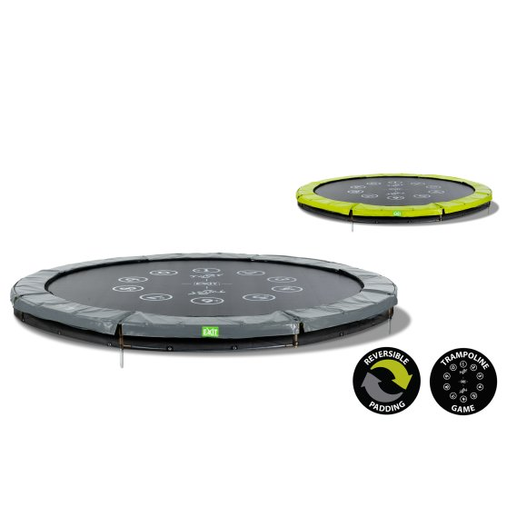 12.61.10.01-exit-twist-ground-trampoline-o305cm-green-grey-5