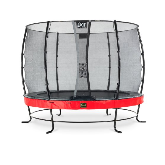 08.10.10.80-exit-elegant-premium-trampoline-o305cm-with-economy-safetynet-red