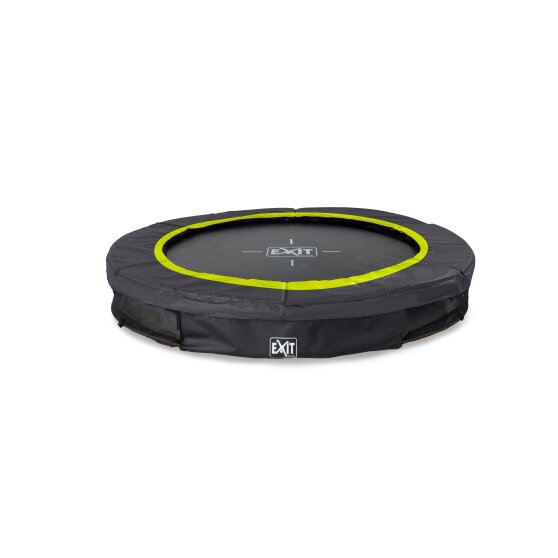 EXIT Silhouette ground trampoline ø183cm - black