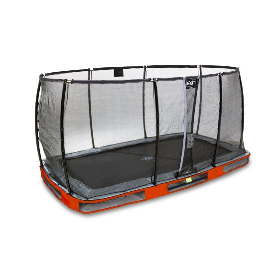 09.40.72.80-exit-elegant-ground-trampoline-214x366cm-with-deluxe-safety-net-red