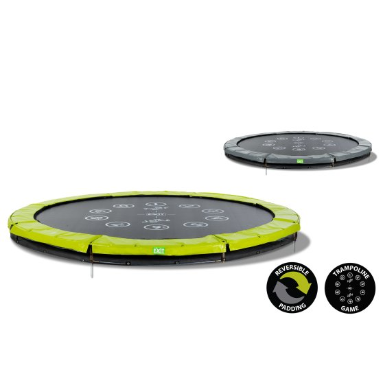 12.61.10.01-exit-twist-ground-trampoline-o305cm-green-grey-4