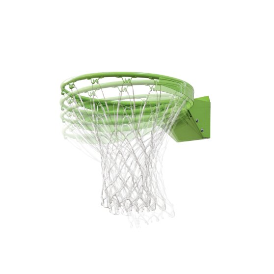 EXIT Polestar portable basketballboard with dunk hoop - green/black