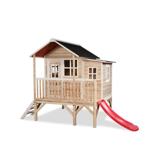 EXIT Loft 350 wooden playhouse - natural