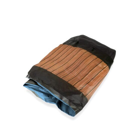 EXIT liner Wood pool 540x250x122cm - brown