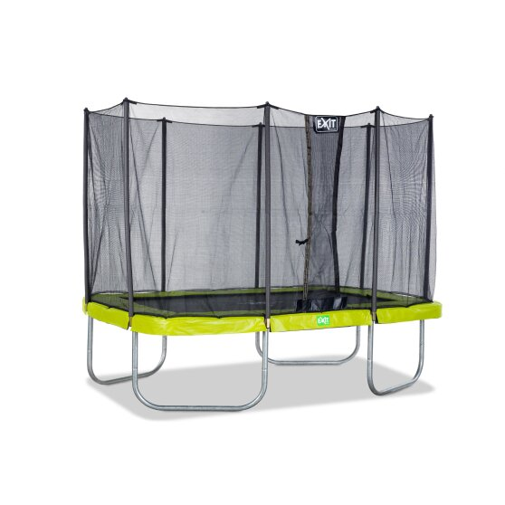 EXIT Twist trampoline 214x305cm - green/grey