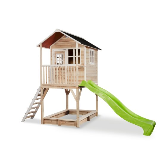 EXIT Loft 700 wooden playhouse - natural