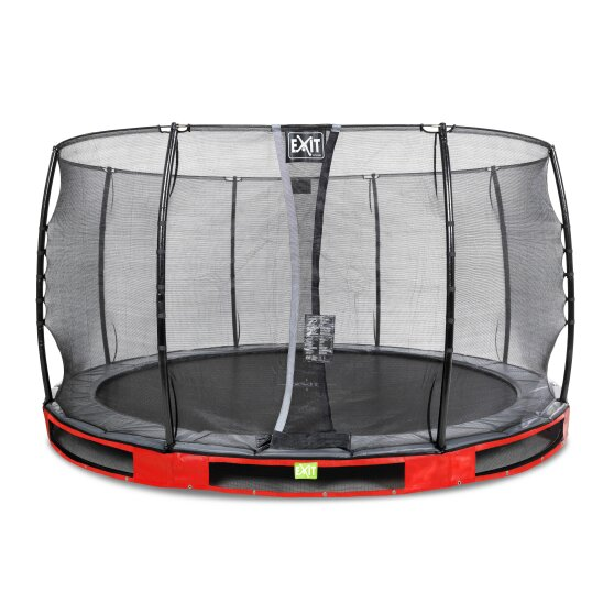 08.30.12.80-exit-elegant-premium-ground-trampoline-o366cm-with-economy-safety-net-red