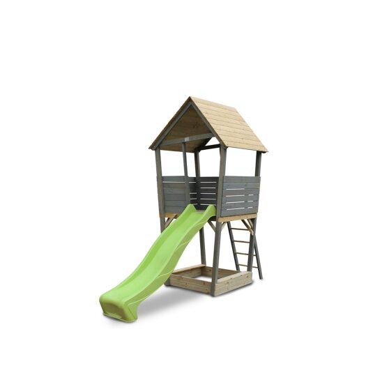 EXIT Aksent wooden play tower - grey