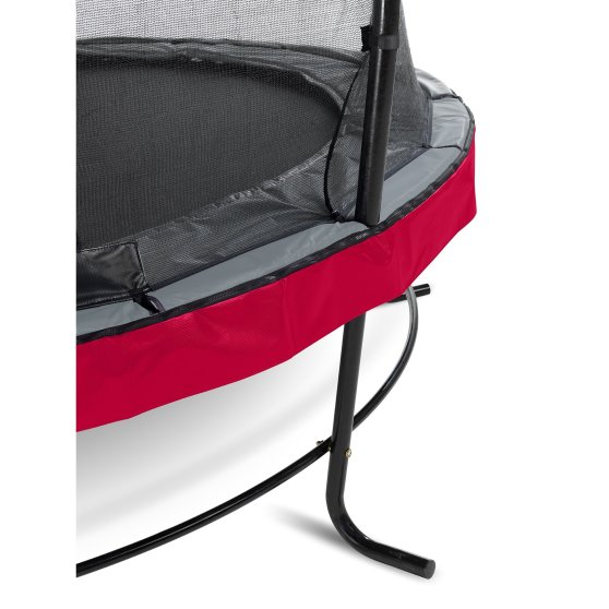 08.10.14.80-exit-elegant-premium-trampoline-o427cm-with-economy-safetynet-red-2