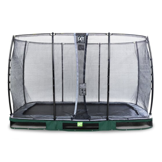 08.30.84.20-exit-elegant-premium-ground-trampoline-244x427cm-with-economy-safety-net-green
