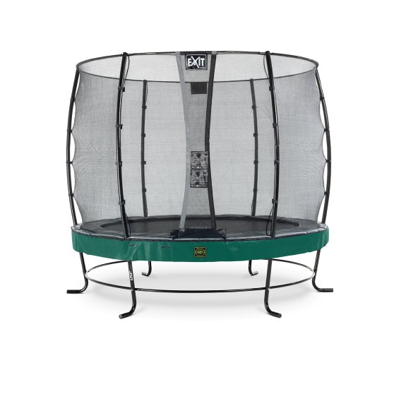08.10.08.20-exit-elegant-premium-trampoline-o253cm-with-economy-safetynet-green