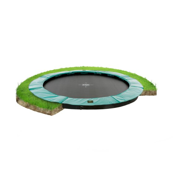 EXIT Supreme ground trampoline ø366cm - green