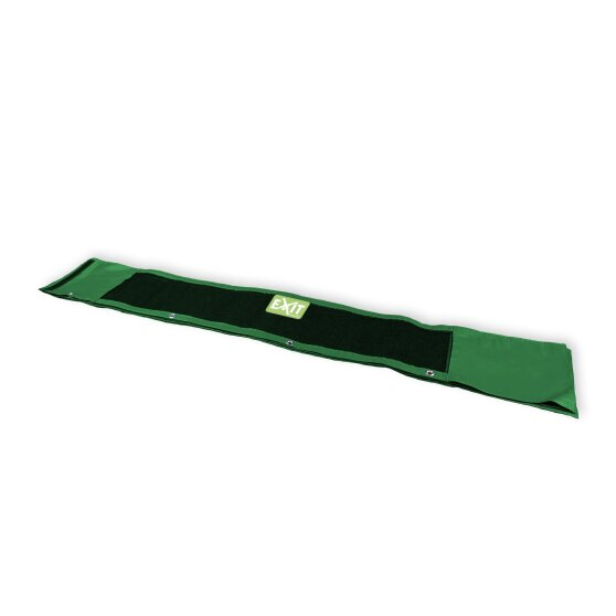 EXIT skirt Elegant ground trampoline 244x427cm - green