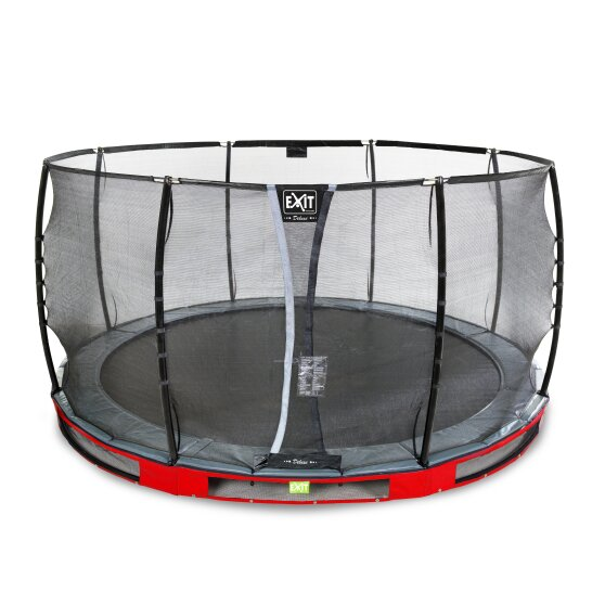 09.40.14.80-exit-elegant-ground-trampoline-o427cm-with-deluxe-safety-net-red