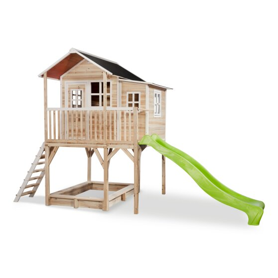 EXIT Loft 750 wooden playhouse - natural
