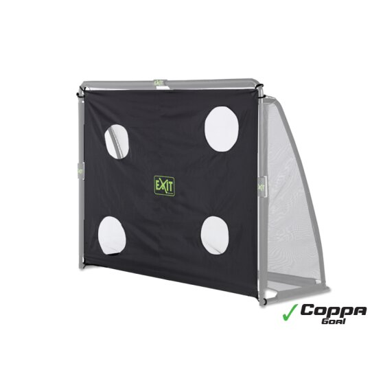 EXIT Coppa football goal training screen