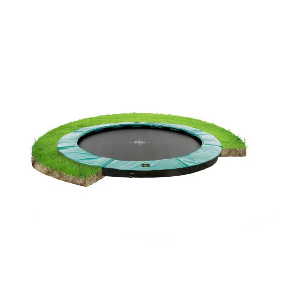 EXIT Supreme ground trampoline ø305cm - green