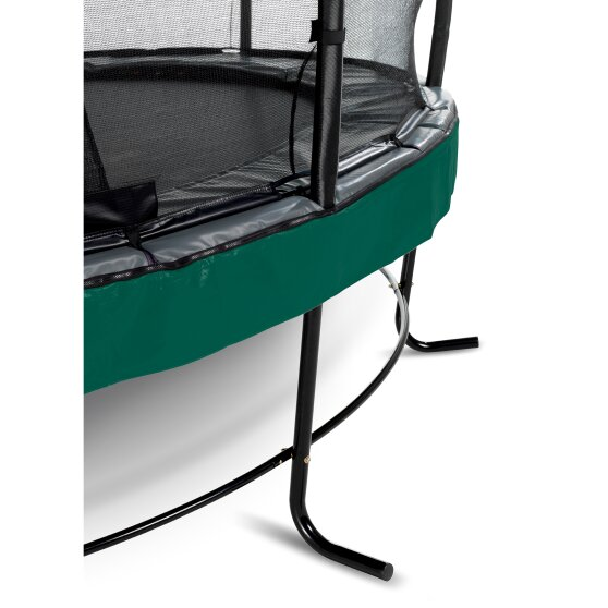 EXIT Elegant Premium trampoline ø305cm with Deluxe safetynet - green