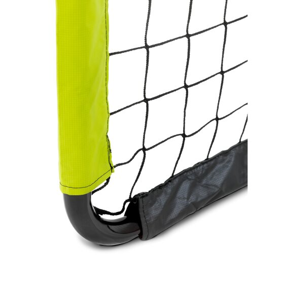 EXIT Tempo steel football goal 180x120cm - green/black