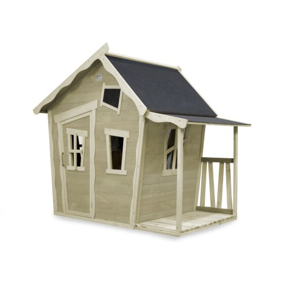 EXIT Crooky 150 wooden playhouse - grey-beige