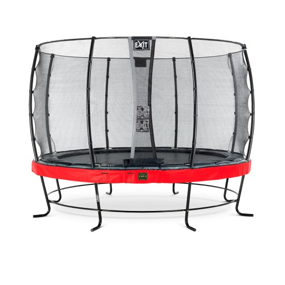 08.10.12.80-exit-elegant-premium-trampoline-o366cm-with-economy-safetynet-red