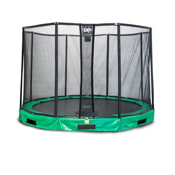 10.28.10.02-exit-interra-ground-trampoline-o305cm-with-safety-net-green