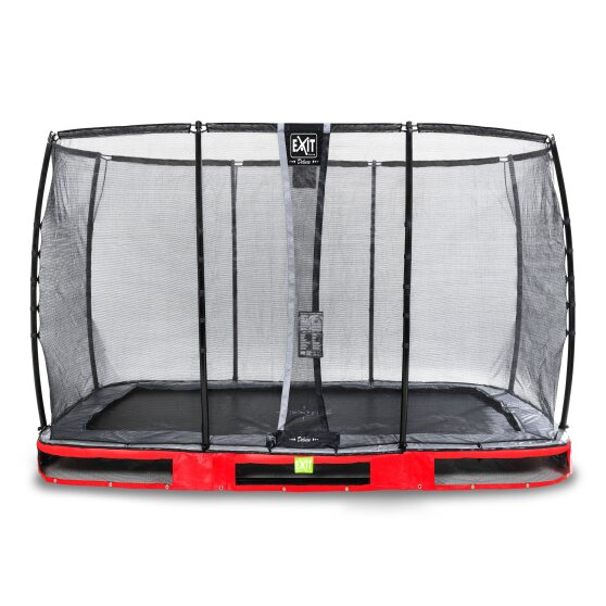09.40.84.80-exit-elegant-ground-trampoline-244x427cm-with-deluxe-safety-net-red