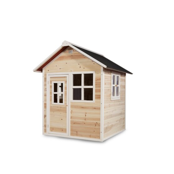 EXIT Loft 100 wooden playhouse - natural