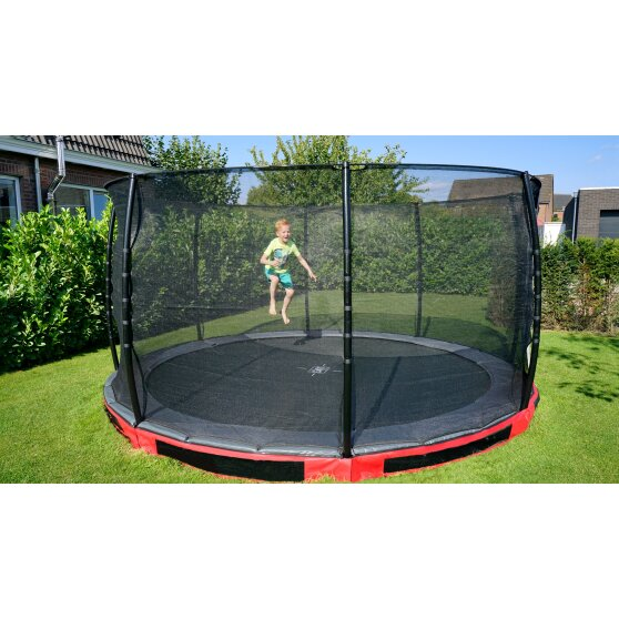 08.30.14.80-exit-elegant-premium-ground-trampoline-o427cm-with-economy-safety-net-red